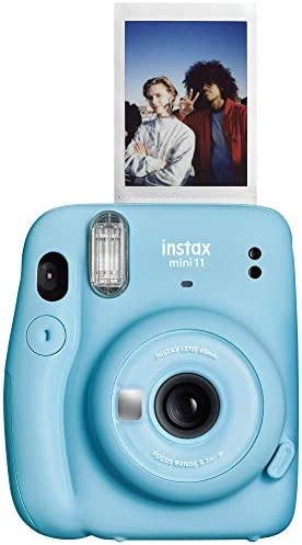 Fujifilm Instax Mini 11 Instant Camera – Sky Blue