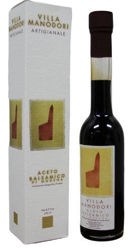 Vinegar Balsamico (Villa Manodori Artigianale Aceto Balsamico Balsamic Vinegar Pack of 2)