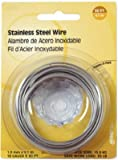 Hillman Fasteners 123114 19-Gauge Stainless Steel Wire, 30-Ft. - Quantity 10