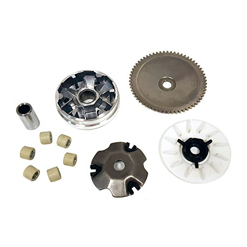 MYK Variator Drive Wheel Assy (CVT) Complete for GY6/QMB139 50cc ()