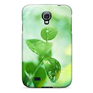 Cute Tpu Norelson Closeup Leaves Case Cover For Galaxy S4