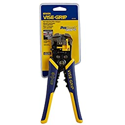 IRWIN VISE-GRIP Self-Adjusting Wire Stripper, 8\