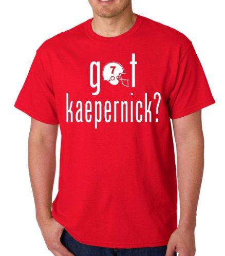 Got Kaepernick? San Francisco Adult Red Novelty T-Shirt Tee
