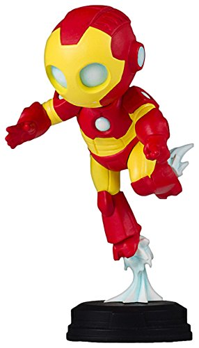 Marvel Comics Iron Man Animated Statue, Full Color, 8 x 2 x 2.5