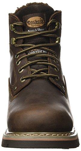 Dockers by Gerli Herren 23da104-400 Combat Boots Braun (Cafe)