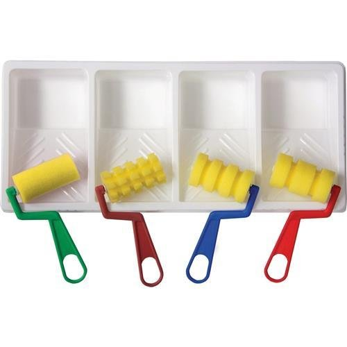 CKC9086 - ChenilleKraft WonderFoam Foam Paint Tray Set by Chenillekraft