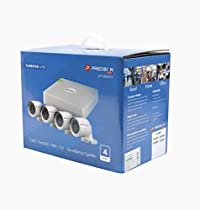 All in one 4-channel Turbo HD CCTV kit powered by Hikvision