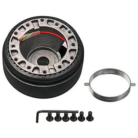 Fiween Adaptador del Eje del Volante Direcci/ón 17MM Cubo de Rueda de Boss Kit Adaptador de N-7 Aptos para la Nissan S13 S14 S15 R33 R34