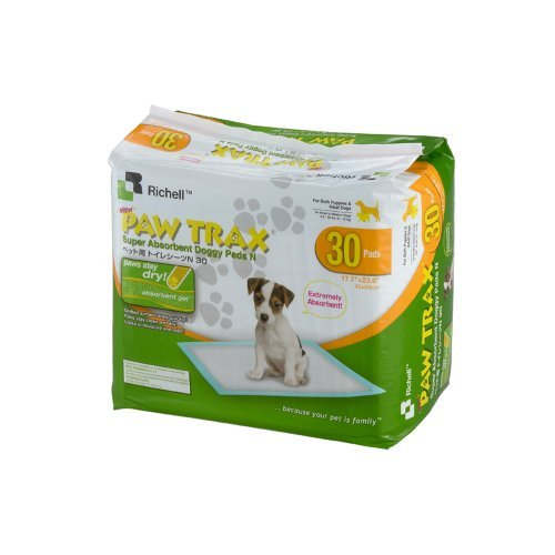 Paw Trax Super Absorbent Training Pads, by Richell