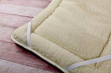 Woolmark PERUGIANO Venta cubrecolchón (Lana Merino. 170/200 cm. con Gomas: Amazon.es: Hogar