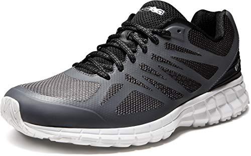TSLA Men's Outdoor Sneakers Trail Running Shoe, All Around(x605) - Dark Grey, 10.5