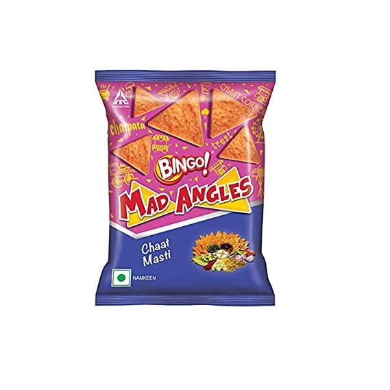 Bingo Mad Angles Chaat Masti Namkeen, 72.5g