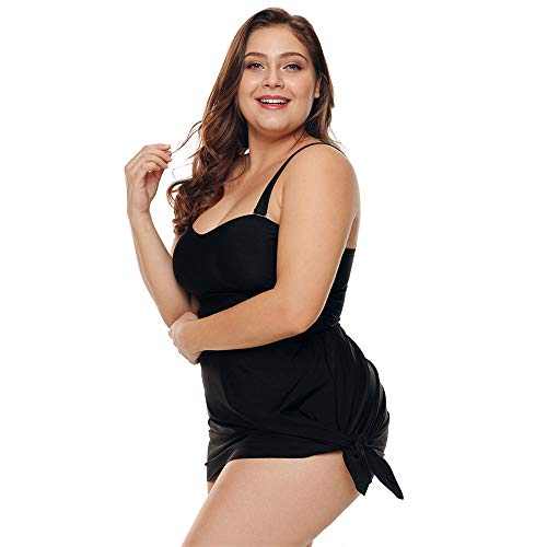 Bagno And Amadoierly 3xl Black Europe Suit Skirt Loose Da Costume Black Intero Women America Xl Swimwear Thin m Is EErxOqgSAw