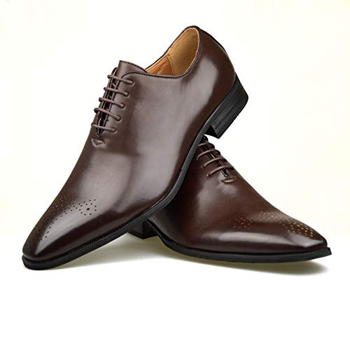Cordones Color Piel Talla 44 Para Hombre Sintética De Classydude Negro Marrón Eu 40 Zapatos EqOwf77xv
