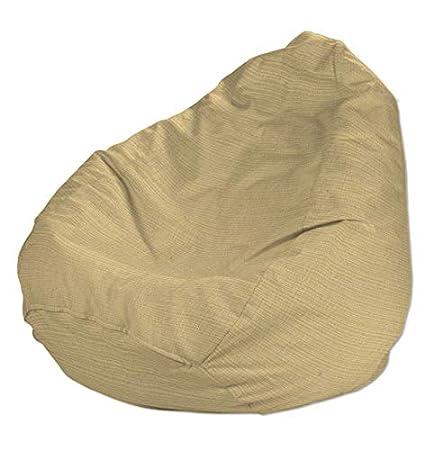 Amazonde Dekoria Sitzsack ø80 115 Cm Sandfarben Beige