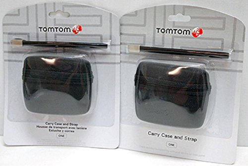 2 Genuine TomTom GPS Carry Case ONE 125 130S 140S 2nd 3rd 4th Edition v2 v3