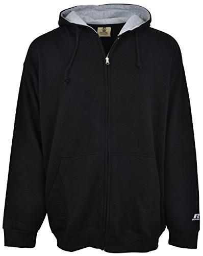 Zip Front Hooded Fleece - 1