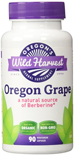 Oregon's Wild Harvest Oregon Grape Organic Capsules, 90 Count