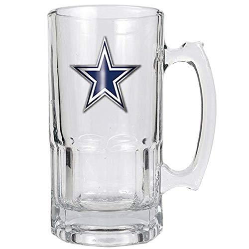 Great American Products Dallas Cowboys NFL 1 Liter Macho Mug - Primary Logo