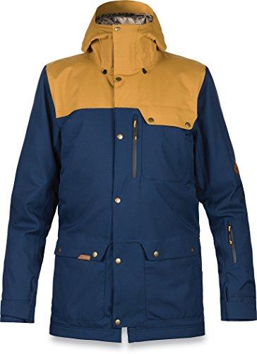 DAKINE Men's Wyeast Waterproof Jacket, Midnight Buckskin, L