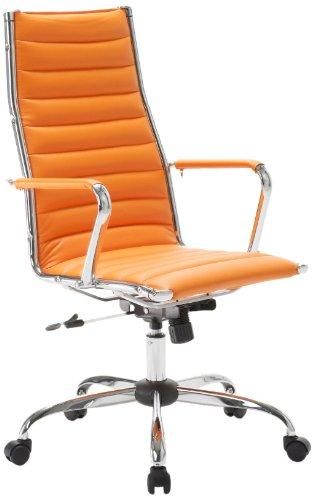 Sedie Da Ufficio Arancione.Easychair Sedia Classica Da Ufficio Colore Arancione Amazon It