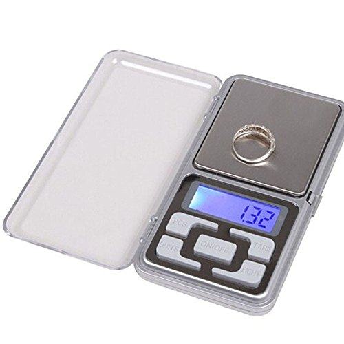 Lljin 100g x 0.01g Digital Scale Jewelry Gold Herb Balance Weight Gram LCD (Best Scale App For Weed)