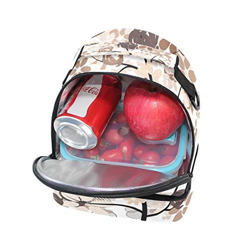 hombro térmica escuela ajustable para de almuerzo correa para para pincnic la Bolsa el con FOLPPLY el wCqRx5v