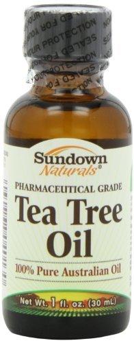 Sundown Naturals Tea Tree Oil Liquid, 1 Ounce by Sundown Naturals
