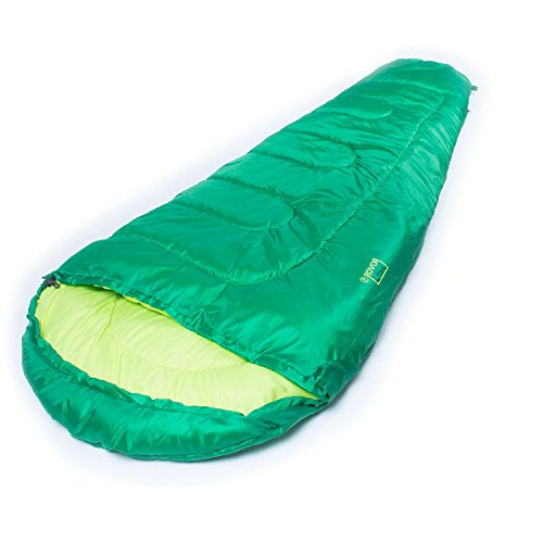 ROVOR Lasal 60 Degree Kids Sleeping Bag with Included Stuff Sack The Lasal Youth Sleeping Bags Have a 60 Degree Comfort Rating