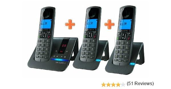 Alcatel Versatis F 250 Voice TRIO - Teléfono Fijo: Amazon.es: Electrónica