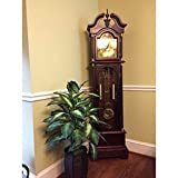 Grandfather Floor Clock Blue Moon Roman Numeral