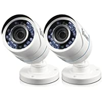 Swann PRO-HDCAM 720p Bullet White PK2 Add-on Bullet Camera, White (SWPRO-HDCAMWH2-WM)