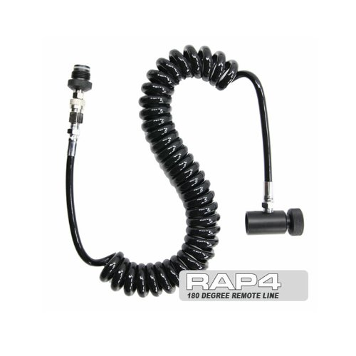 rap4 CO2 HPA Paintball Thick Coiled Remote QD ON/OFF by rap4