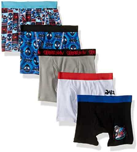 Spiderman Boys Spiderverse Boxer Brief 5-Pack