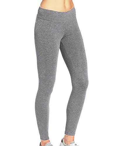 iLoveSIA Women's Tights Yoga Running Workout Leggings Pants US Size (Jersey Ankle Leggings)