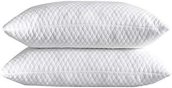 NTCOCO 2-Pack Shredded Memory Foam Bed Pillows for Sleeping