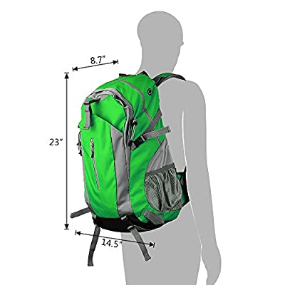 Eaglewill 50L Outdoor Backpack for Camping Hiking Traveling Climbing Running Cycling Sports Daypack Bag