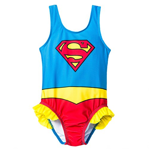 Supergirl Girls Swimwear Swimsuit (Toddler)