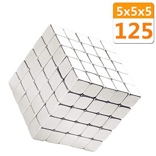 Permanent Cube 5mmX5mmX5mm 125PACK,Refrigerator,Handcraft Crafts,Dry,Office,Fridge,Science,Whiteboard (5mmX5mmX5mm)