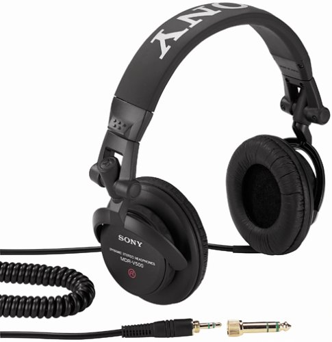(Sony MDR-V500DJ Monitor Series Headphones with Swivel Earcups (Discontinued by Manufacturer))