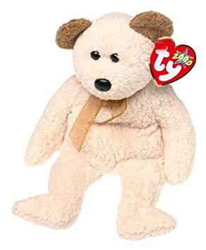 accf5494845 TY Huggy the Bear Beanie Baby  Amazon.co.uk  Toys   Games