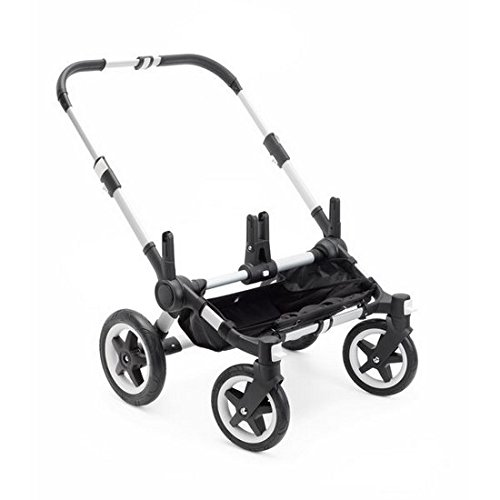 Bugaboo Donkey2 Stroller, Aluminum (Pushchairs Compatible With Maxi Cosi Car Seat)