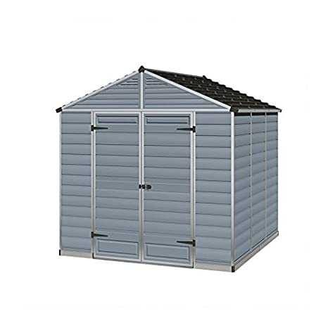 - Caseta de jardín Palram SkyLight Shed 8 x 8 grey Palram SkyLight - 8 x 8 grey: Amazon.es: Jardín