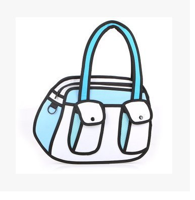 Genius_Baby Cartoon Shoulder Messenger Drawing