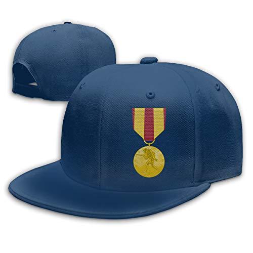 GDPOOL Marine Corps Expeditionary Medal Hat Hip Hop Snapback Baseball Cap Navy (Navy Marine Expeditionary Corps Medal)
