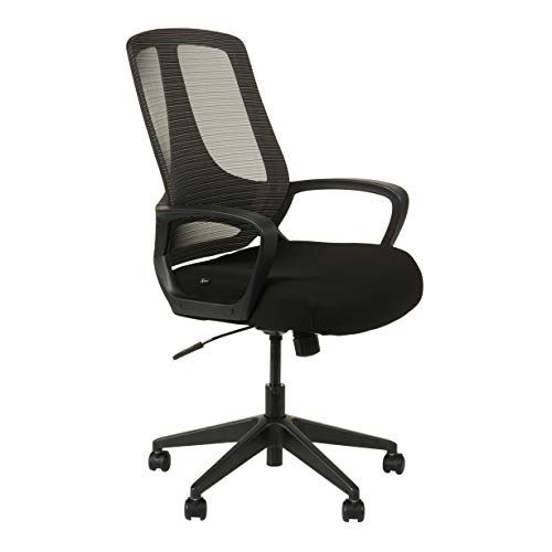 Alera ALEMB4718 MB Series Mesh Mid-Back Office Chair, Black