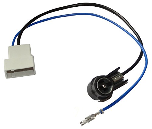 Aerzetix: ISO Car Radio Antenna Cable Connector, Adapter: