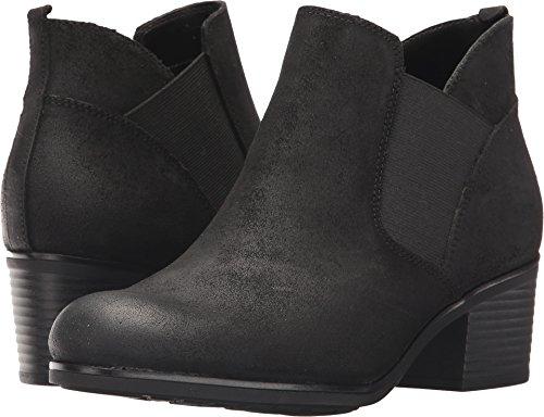 Rockport Women's Danii Chelsea Boot, Black Suede, 7 M US by Rockport