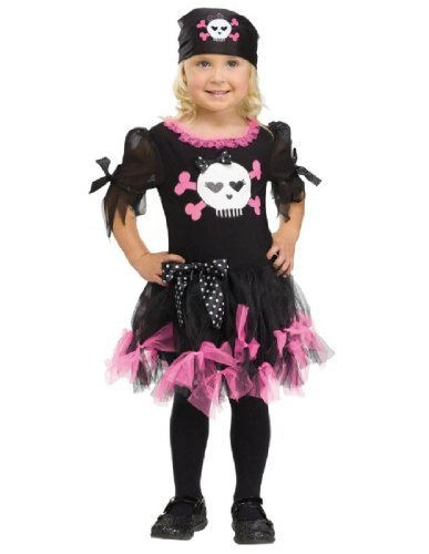 Toddler Sally Skully Pirate Costumes - Morris Costumes Sally Skully Child Sm
