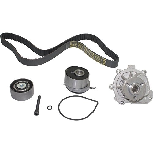 Timing Belt Water Pump Kit compatible with 2009-2014 Chevy Sonic Aveo5 Cruze Saturn Astra Pontiac G3 1.6L 1.8L DOHC ()